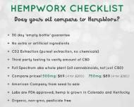 HempWorx Checklist