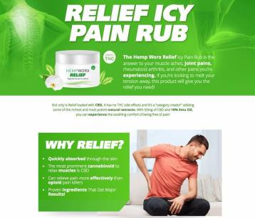 Why Relief Pain Rub